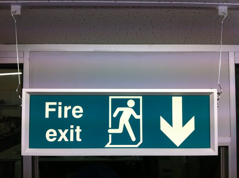 Fire Exit Signage The Signage